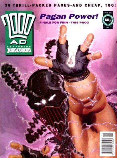 Cover for 2000 AD (Fleetway Publications, 1987 series) #816