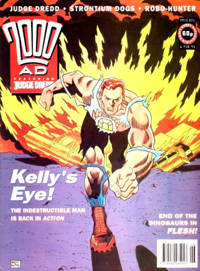 Cover for 2000 AD (Fleetway Publications, 1987 series) #821