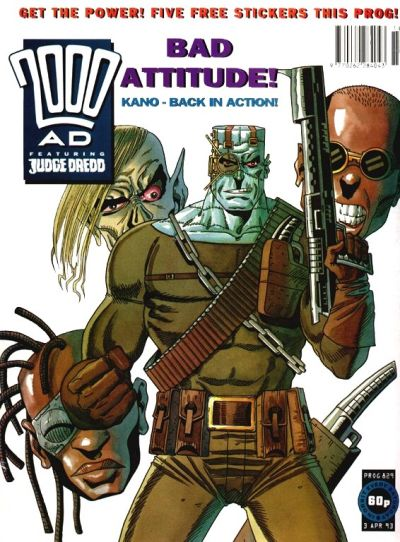 Cover for 2000 AD (Fleetway Publications, 1987 series) #829