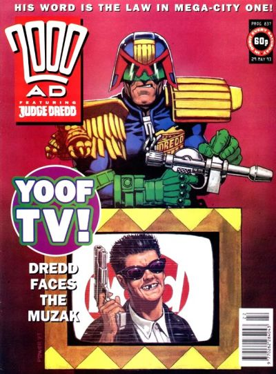 Cover for 2000 AD (Fleetway Publications, 1987 series) #837