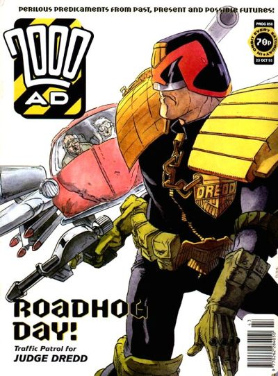 Cover for 2000 AD (Fleetway Publications, 1987 series) #858