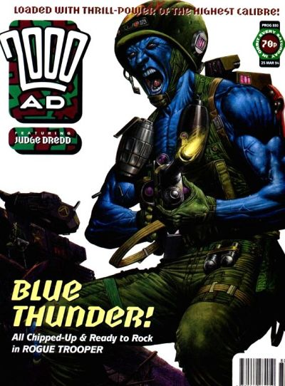 Cover for 2000 AD (1987 series) #880