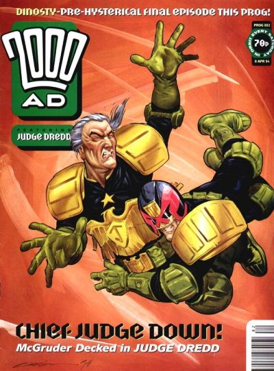Cover for 2000 AD (Fleetway Publications, 1987 series) #882