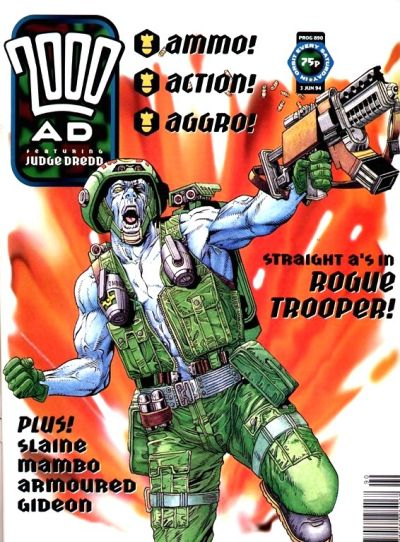 Cover for 2000 AD (Fleetway Publications, 1987 series) #890