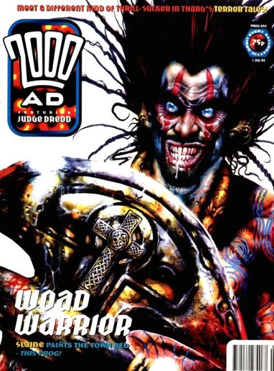 Cover for 2000 AD (Fleetway Publications, 1987 series) #894