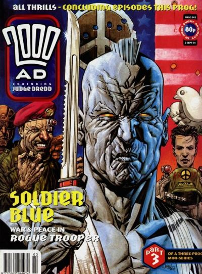 Cover for 2000 AD (Fleetway Publications, 1987 series) #903