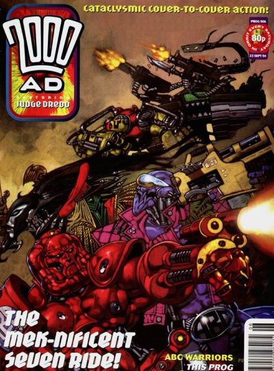 Cover for 2000 AD (Fleetway Publications, 1987 series) #906