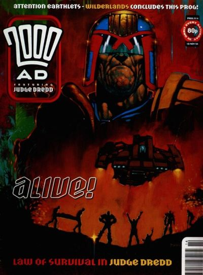 Cover for 2000 AD (Fleetway Publications, 1987 series) #914