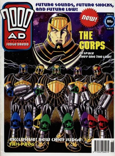 Cover for 2000 AD (1987 series) #918