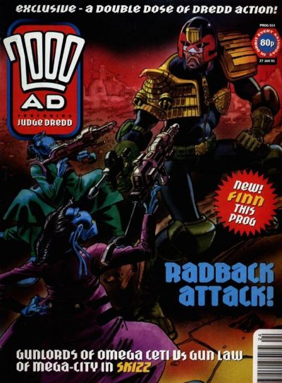 Cover for 2000 AD (Fleetway Publications, 1987 series) #924