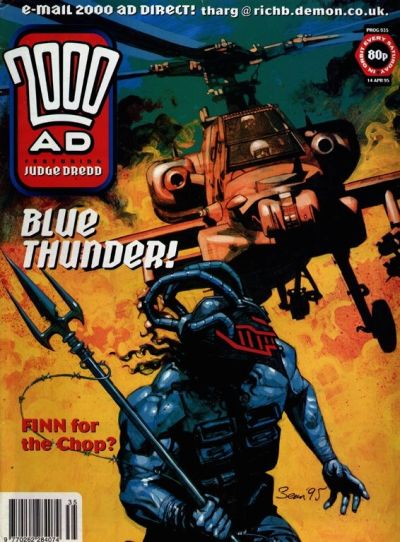 Cover for 2000 AD (Fleetway Publications, 1987 series) #935