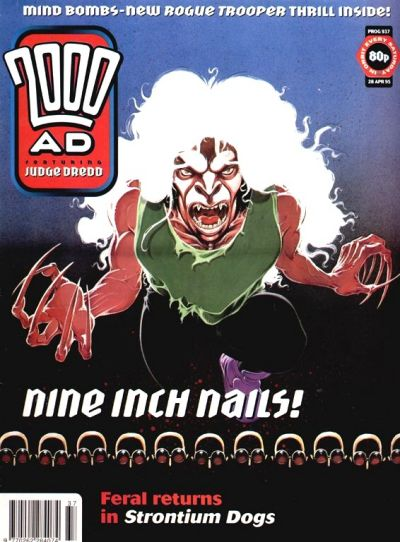 Cover for 2000 AD (Fleetway Publications, 1987 series) #937
