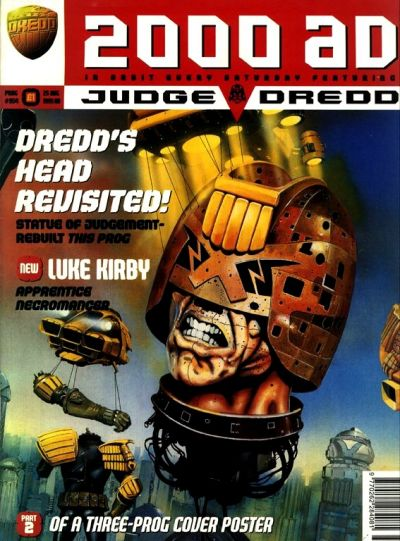 Cover for 2000 AD (Fleetway Publications, 1987 series) #954