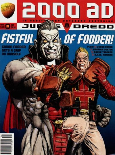 Cover for 2000 AD (Fleetway Publications, 1987 series) #986