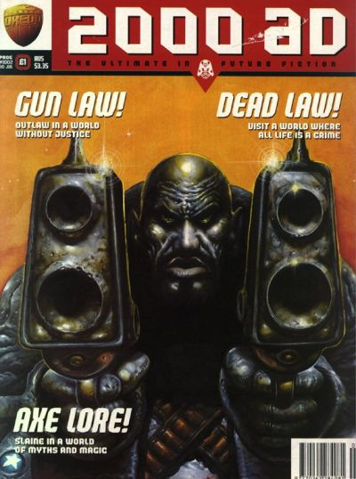 Cover for 2000 AD (Fleetway Publications, 1987 series) #1002