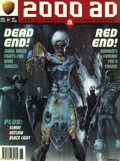 Cover for 2000 AD (Fleetway Publications, 1987 series) #1006
