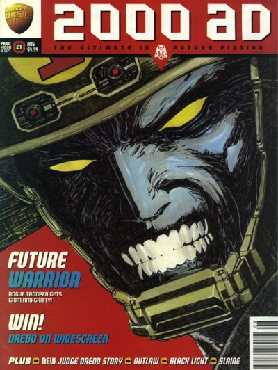 Cover for 2000 AD (Fleetway Publications, 1987 series) #1008