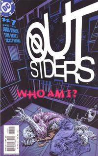 Cover Thumbnail for Outsiders (DC, 2003 series) #7