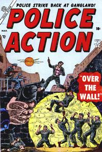 Cover Thumbnail for Police Action (Marvel, 1954 series) #2