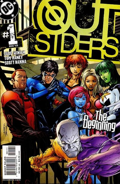 Cover for Outsiders (DC, 2003 series) #1