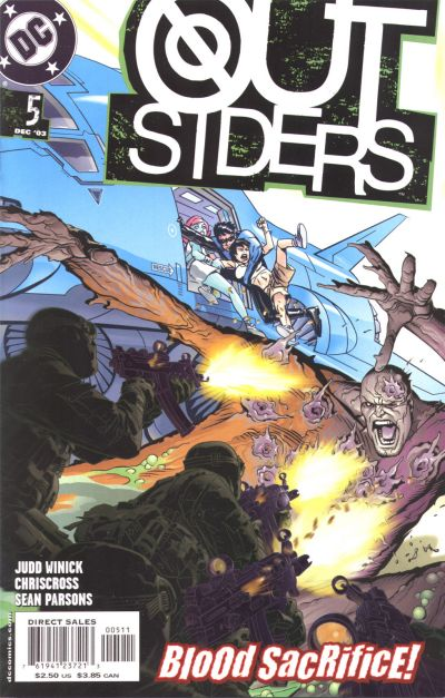 Cover for Outsiders (DC, 2003 series) #5