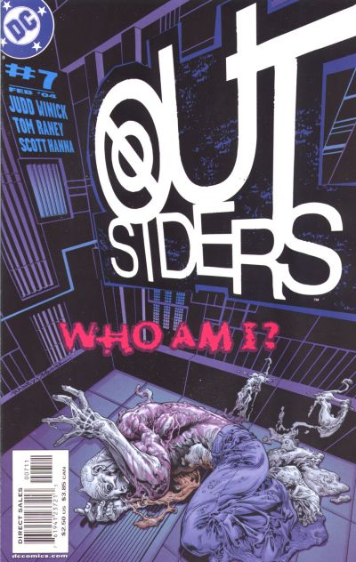 Cover for Outsiders (DC, 2003 series) #7