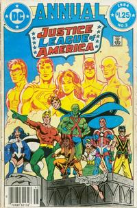 Cover Thumbnail for Justice League of America Annual (DC, 1983 series) #2 [Newsstand]