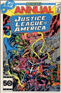 Cover Thumbnail for Justice League of America Annual (DC, 1983 series) #3 [Direct]