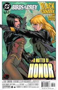 Cover Thumbnail for Birds of Prey (DC, 1999 series) #63
