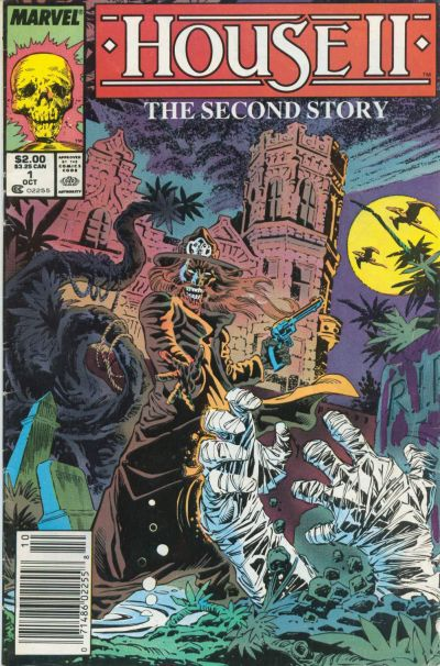 Cover for House II The Second Story (Marvel, 1987 series) #1