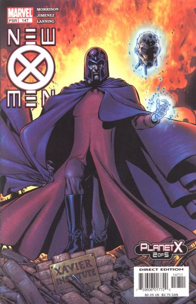 Cover for New X-Men (Marvel, 2001 series) #147 [Newsstand Edition]
