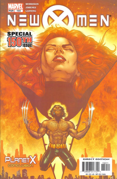 Cover for New X-Men (Marvel, 2001 series) #150 [Direct Edition]