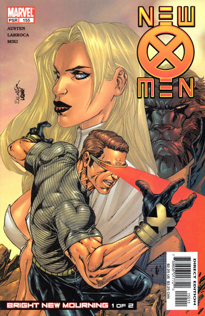 Cover for New X-Men (Marvel, 2001 series) #155 [Direct Edition]