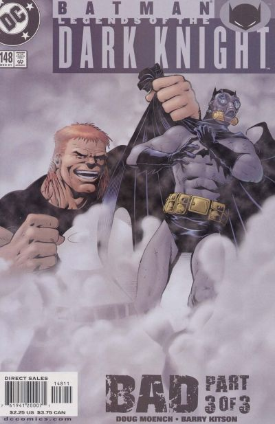 Cover for Batman: Legends of the Dark Knight (DC, 1992 series) #148