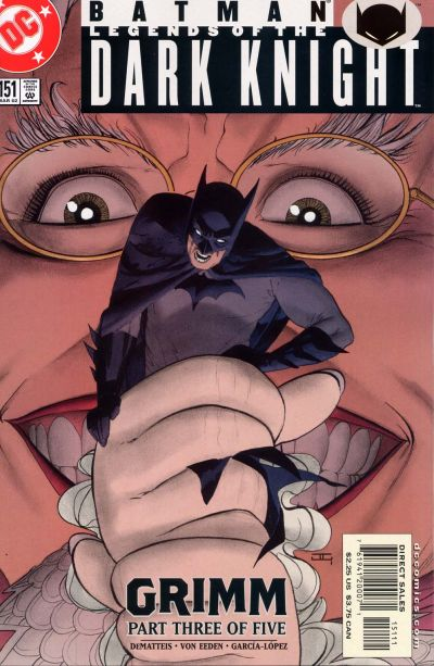 Cover for Batman: Legends of the Dark Knight (DC, 1992 series) #151
