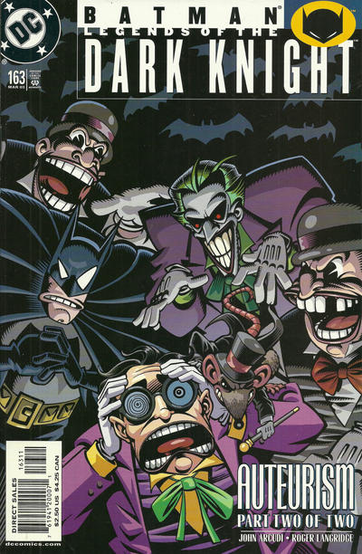 Cover for Batman: Legends of the Dark Knight (DC, 1992 series) #163
