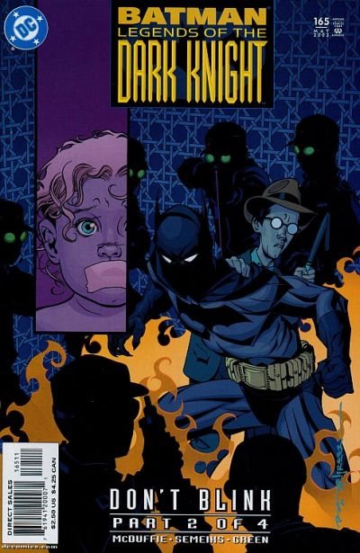 Cover for Batman: Legends of the Dark Knight (DC, 1992 series) #165