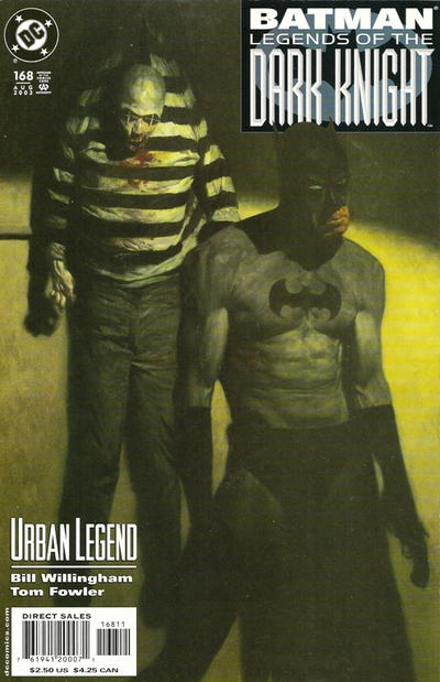 Cover for Batman: Legends of the Dark Knight (1992 series) #168