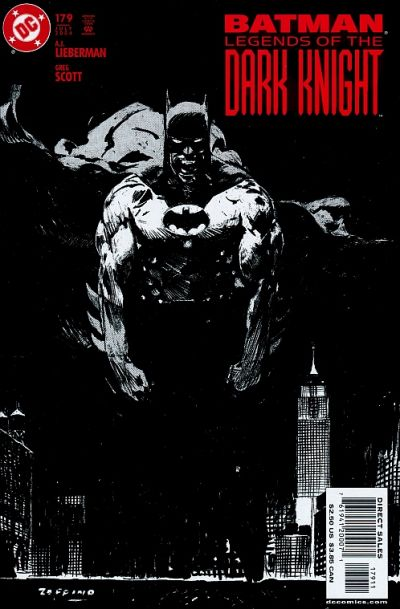 Cover for Batman: Legends of the Dark Knight (DC, 1992 series) #179