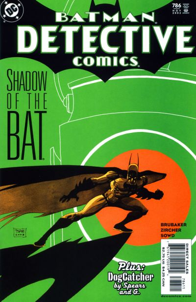 Cover for Detective Comics (1937 series) #786