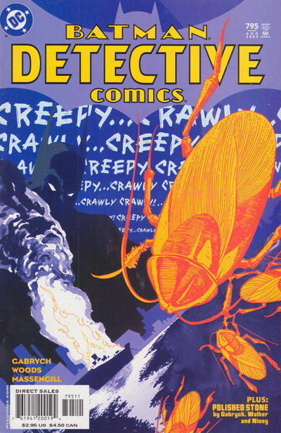 Cover for Detective Comics (DC, 1937 series) #795