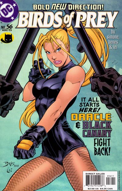 Cover for Birds of Prey (1999 series) #56 [Newsstand Edition]