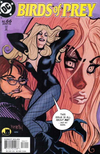 Cover for Birds of Prey (1999 series) #66