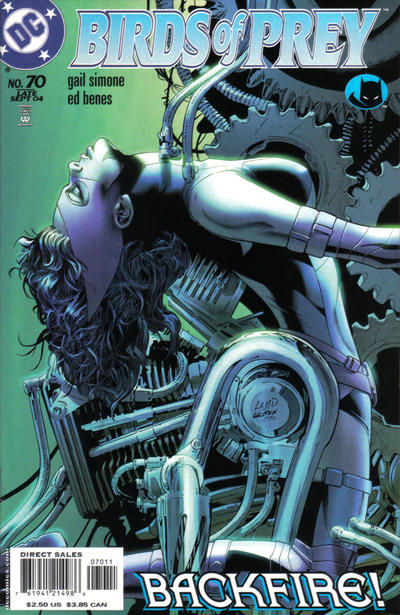 Cover for Birds of Prey (1999 series) #70