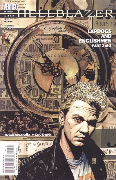 Cover for Hellblazer (DC, 1988 series) #163