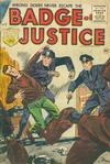 Cover for Badge of Justice (Charlton, 1955 series) #3