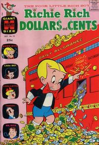 Cover Thumbnail for Richie Rich Dollars and Cents (Harvey, 1963 series) #10