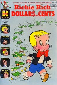 Cover Thumbnail for Richie Rich Dollars and Cents (Harvey, 1963 series) #22