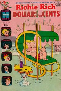 Cover Thumbnail for Richie Rich Dollars and Cents (Harvey, 1963 series) #39
