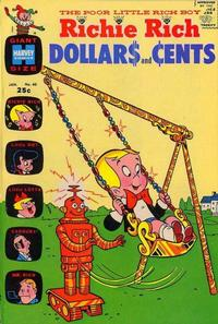 Cover Thumbnail for Richie Rich Dollars and Cents (Harvey, 1963 series) #40